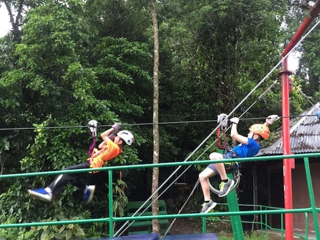 costa-rica-dual-immersion-program-5th-graders-zipline