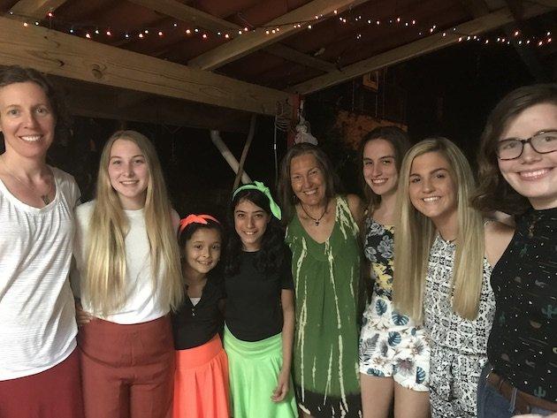 girl scouts in costa rica