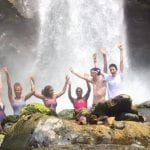 Costa Rica School Trip (waterfall)