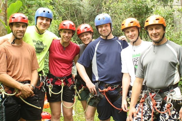 costa-rica-spanish-immersion-student-ziplining-tour
