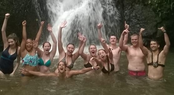 costa-rica-student-cultural-immersion-waterfall-lagoon