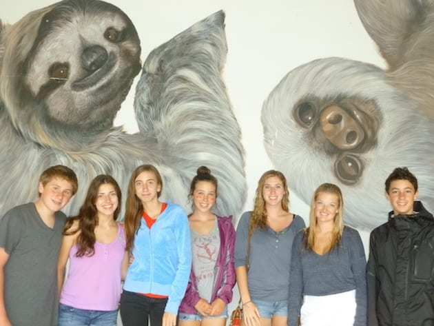 culture-service-volcano-beach-middle-school-trip-sloth
