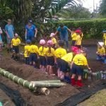 Teaching Gardening to Kids in Costa Rica